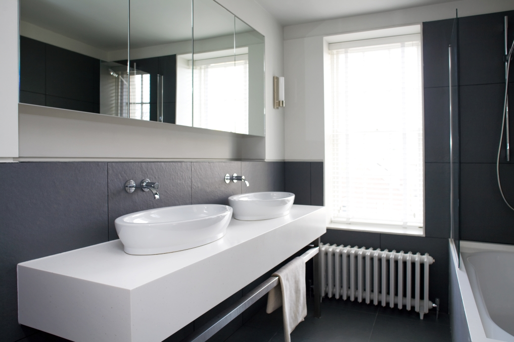 Bathroom bespoke units peter bernard kitchen design dublin Sample design of small bathroom